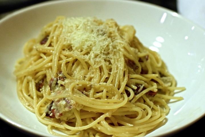 Tuscan Spaghetti Carbonara