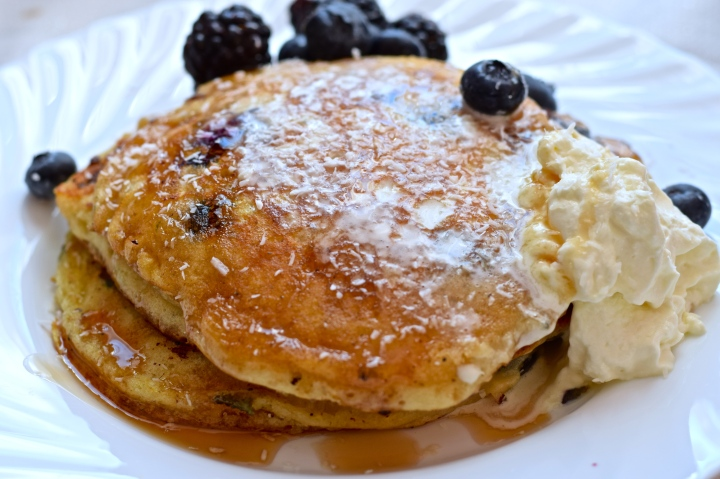 The best fluffy pancakes! …